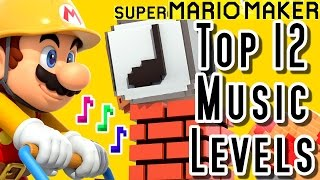 super mario maker top 12 music levels wii u