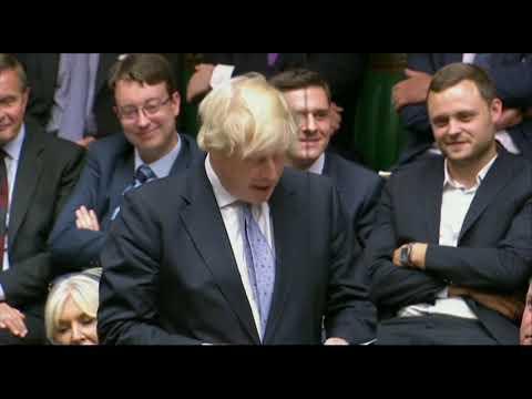 Boris Johnson unveils plans to build a Jurassic Park