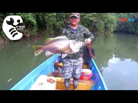 Fishing Giant Monster at Papua New Guinea