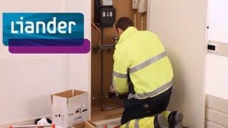 Installatie van uw slimme meter - opbouw meterkast - Liander