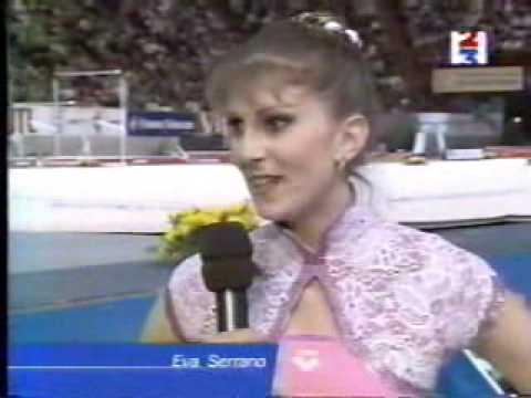 Eva Serrano Interview French International 1999