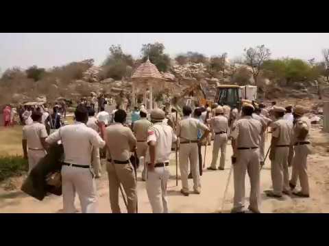 Faridabad BJP Leader Premkrishan Arya Farm house broke