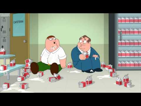 Family Guy S13 E16 How Much Milk Do You Drink?