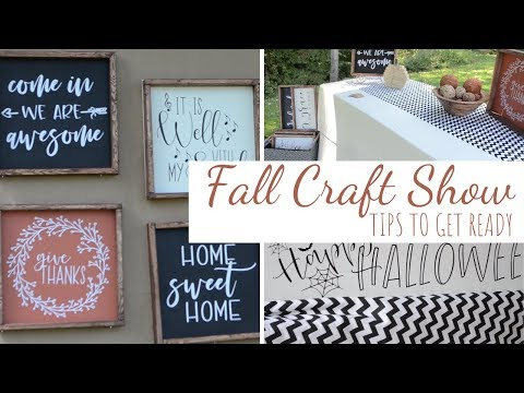 Craft Show Tips / How to Prepare for A Craft Show