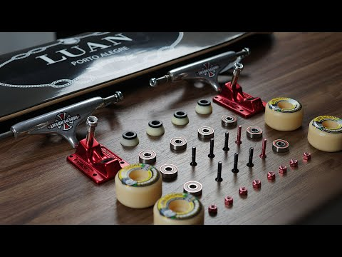 Dream Build Skateboard - Like A Luan Oliveira Setup 2019