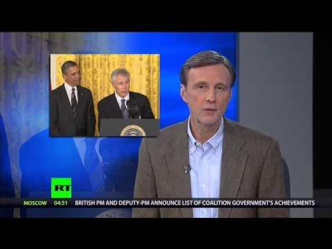 "Senator Chuck Hagel -  It's the ""Nixon to China"" effect..."