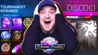 *OMG PAINTED BLACK MARKET* My Biggest & Best SEASON 3 Tournament Reward Opening in Rocket League!
