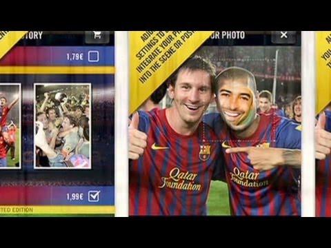 FC Barcelona unique app partners
