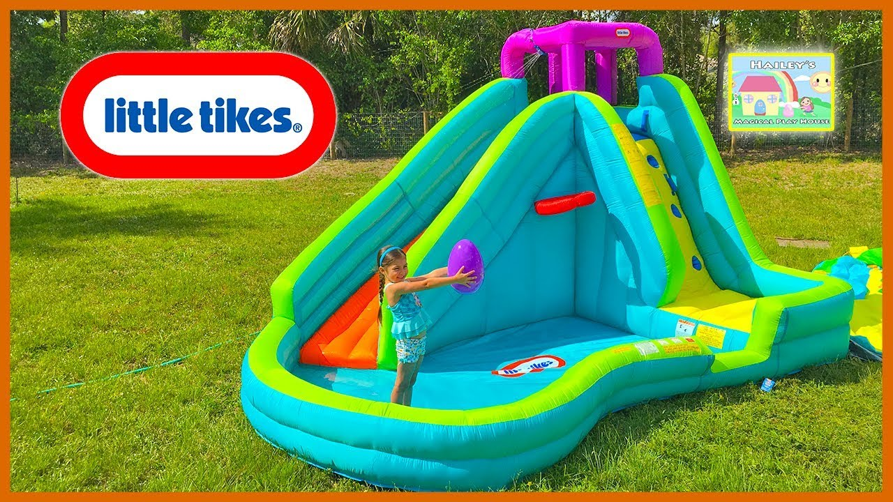 Huge Inflatable Water Slide By Little Tikes Giant Egg