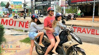 🏖️ Mui Ne Travel - Stefi & Emi Vlog 🚌🏝️ Đồi Cát Đỏ, Bãi Biển, Suối Tiên Video