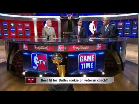 Vince Cellini, Steve Smith and Dennis Scott Interview NBA GameTime Tom Thibodeau as the Bulls, 24 Ju