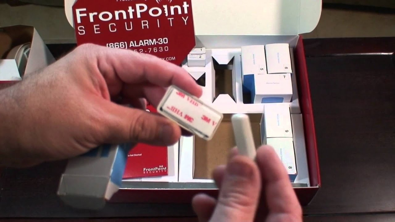 my frontpoint security system youtube