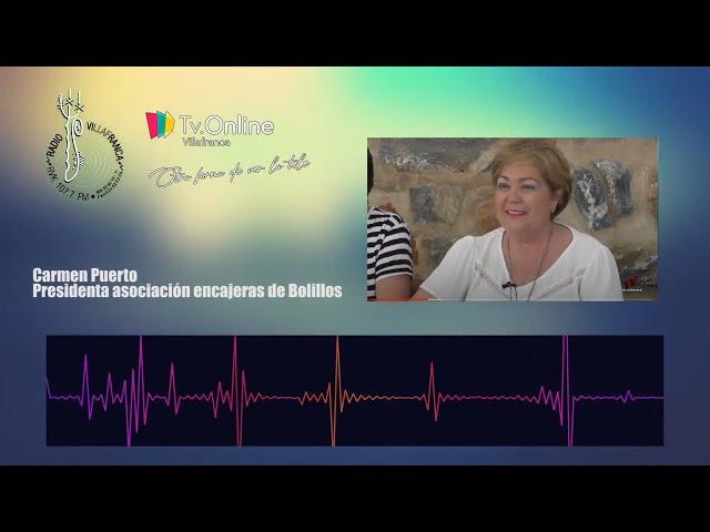 Entrevista a Carmen Puerto, Presidenta de la asociación de encajeras de bolillos