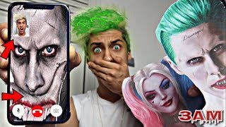 DO NOT FACETIME THE JOKER AT 3AM!! *OMG HE ACTUALLY CAME TO MY HOUSE WITH HARLEY QUINN*