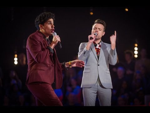 Liam Tamne Vs John Pritchard - 'Easy Lover' (Full Video) - The Voice UK 2013