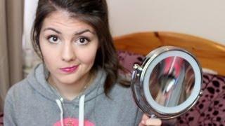 No Mirror Makeup Challenge! | Tag | RachaelJadee