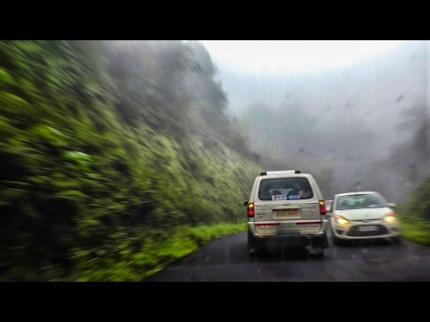 Epic Monsoon Drive thru Kudremukh National Park