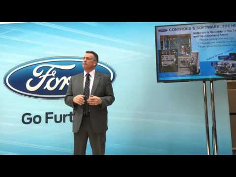 Kevin Layden Director Ford Electrification Vehicle Batteries 12-10-15