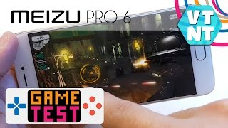 Meizu Pro 6 Тест Игр