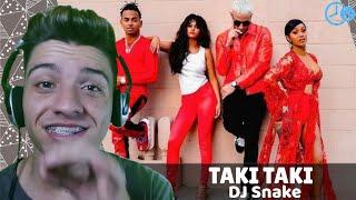 Baixar DJ Snake, Selena Gomez,  Ozuna & Cardi B - Taki Taki REACT