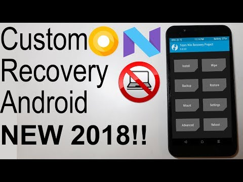 |2018| Install CUSTOM Recovery (TWRP/CWM) Universal NO COMPUTER Android Oreo - Android Jelly Bean