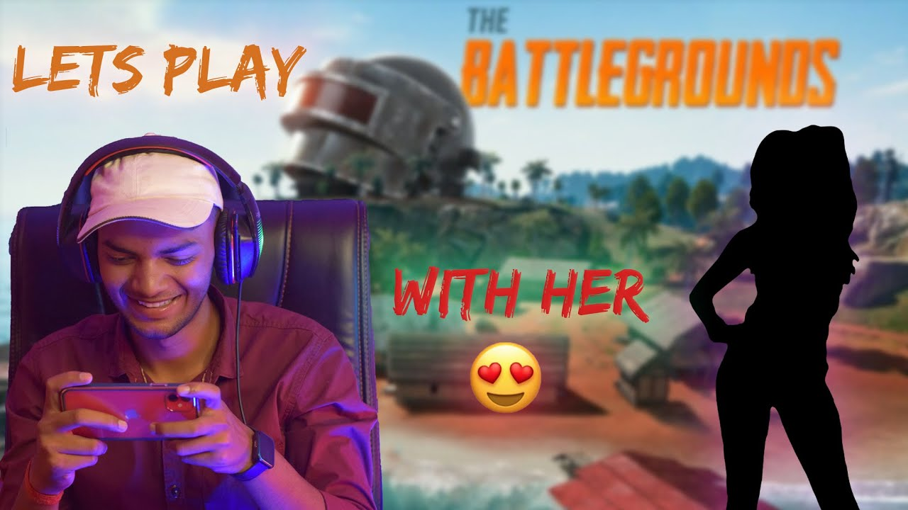 HOW TO FLIRT WITH GIRLS IN BGMI😍  PLAYING BGMI FOR FIRST TIME WITH HER   Siku Plays