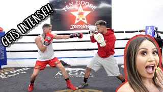 YOUTUBERS BOXING EACH OTHER!! **Social Gloves Event**
