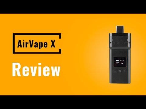 AirVape X Vaporizer Review – Vapesterdam