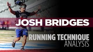 Running Technique Analysis: Josh Bridges