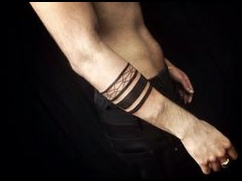 Tatuajes De Brazalete Youtube - Tatuajes-de-brazaletes-para-el-brazo