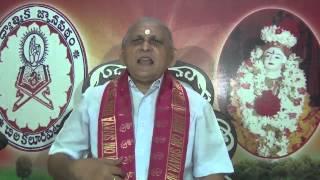 Brahma Sutramulu : Day 07 : CH03 Padam1 : Sutram 1 : Sri Chalapathirao