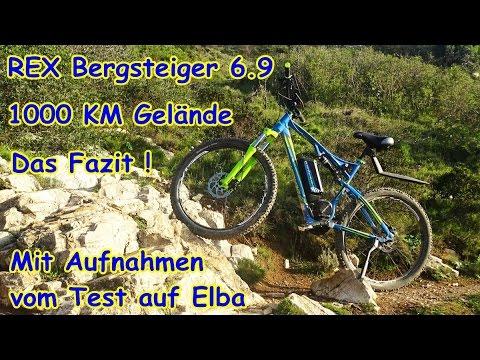 rex bergsteiger 6 9 e bike test auf elba fazit nach. Black Bedroom Furniture Sets. Home Design Ideas