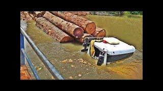 Водитель лесовоза 80 Уровень Лесовозы по бездорожью уникальная подборка