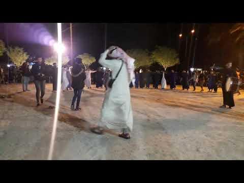 جوبي فهد الخالدي مع الفنان أحمد الطيب في الخالديه