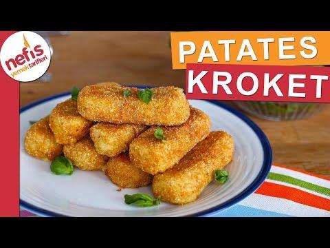EN PRATİK Patates Kroket Tarifi - Az Malzemeli Çok Lezzetli