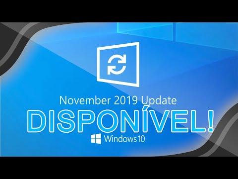 Windows 10 Novembro 2019 Update Já Está DISPONÍVEL Via Windows Update - CONFIRA!!!