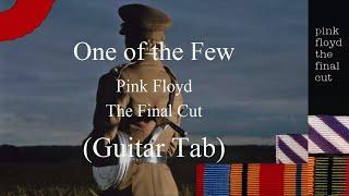 Pink Floyd   One Of The Few Guitar Tab