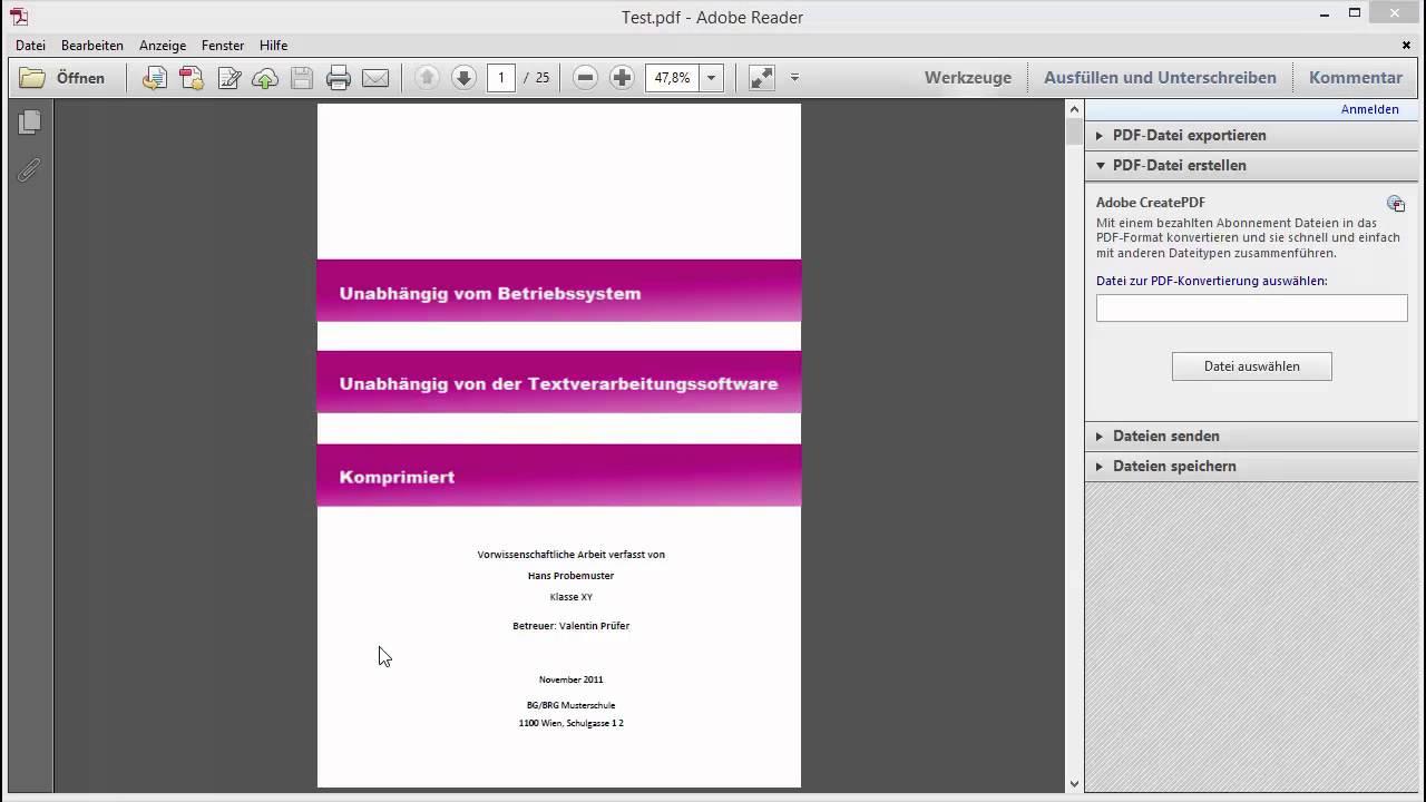 Word office 365 pdf erstellen