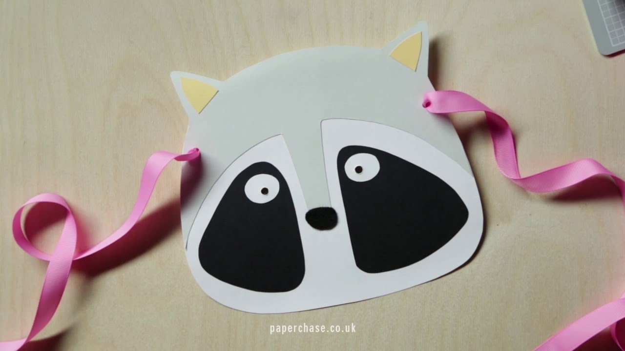 How To Make A Kids Animal Mask Youtube