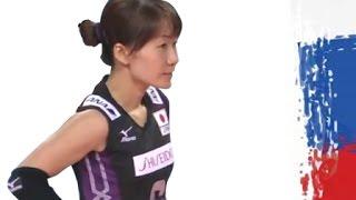 Yuko Sano 佐野 優子 vs Russia 2014