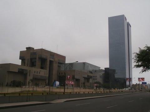 EDIFICIOS MÁS ALTOS DE LIMA: 1° puesto: Torre Banco de la Nación (138 m), Distrito de San Borja