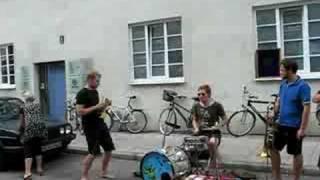 BrassBanda playing at Optimal