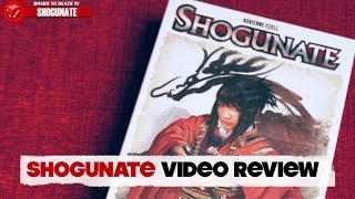 Shogunate Video Review  Board to Death TV