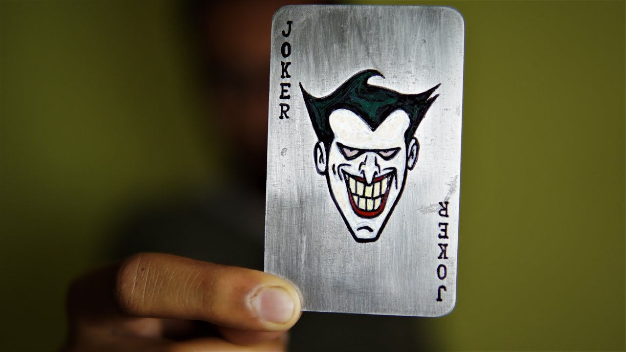 Джокер карта обои на телефон