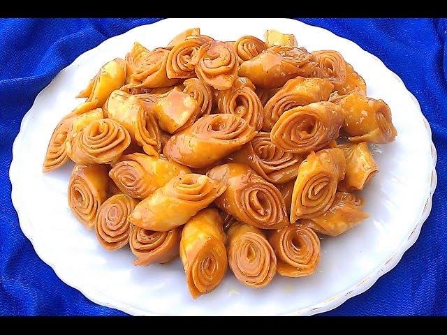 حلويات رمضان: حلوة لسان الطير(العصفور) بمقادير بسيطة وطريقة ناجحة