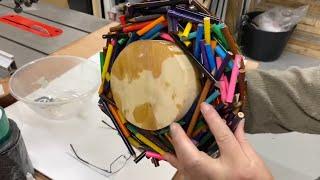 Woodturning -  DIY Pencil Venus Trap Bowl