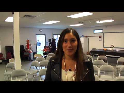 Q orianka Kilcher interview after speaking at Northwest Indi