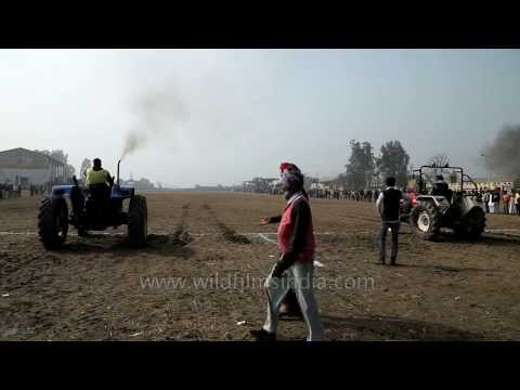 Tractor racing - an amazing sport of Punjab!