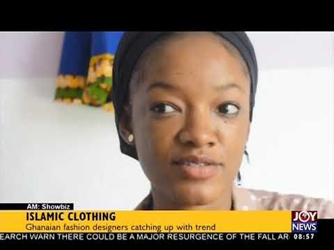 Islamic Clothing - AM Showbiz on JoyNews (15-9-17)