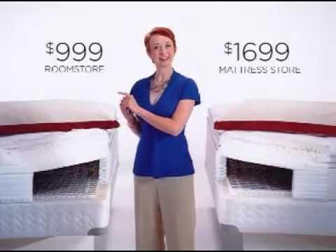 RoomStore Mattress Savings - YouTube